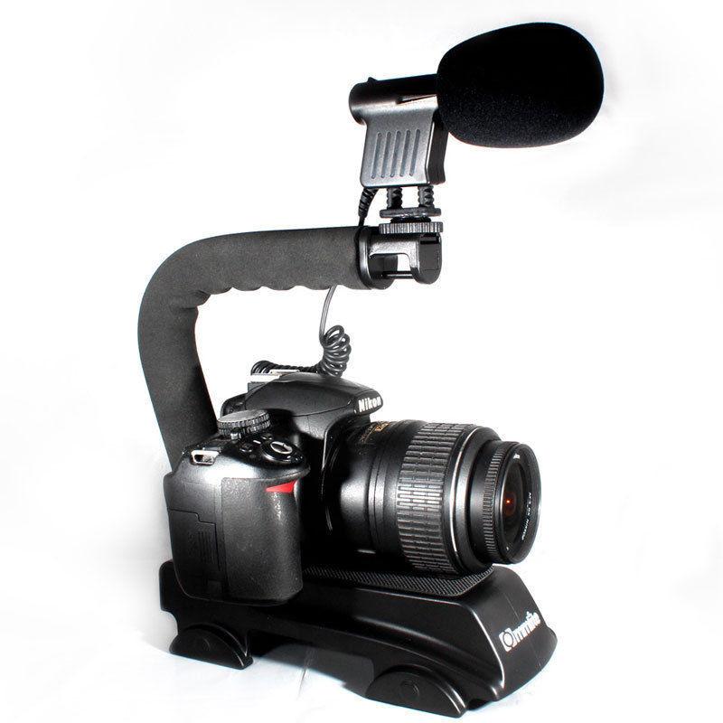 С-образная ручка для фотоаппаратов и мини-видеокамер