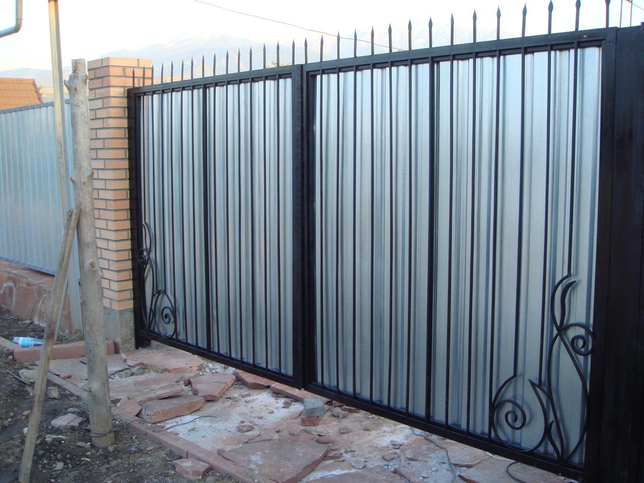 Ворота с экраном №5