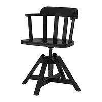 Кресло вращающееся легкое ФЕОДОР черный ИКЕА, IKEA , фото 1