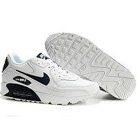 Nike Air Max 90 кроссовки бело-черные