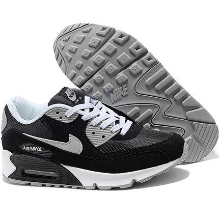 Nike Air Max 90 кроссовки черные, фото 2