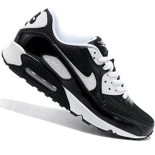 Nike Air Max 90 кроссовки черно-белые