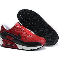 Nike Air Max 90 кроссовки красно-черные