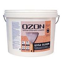 Штукатурка декоративная OZON 'Шуба SILIKON 1.5' акриловая 8 кг