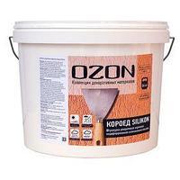 Штукатурка декоративная OZON 'Короед SILIKON 2.0' акриловая 8 кг