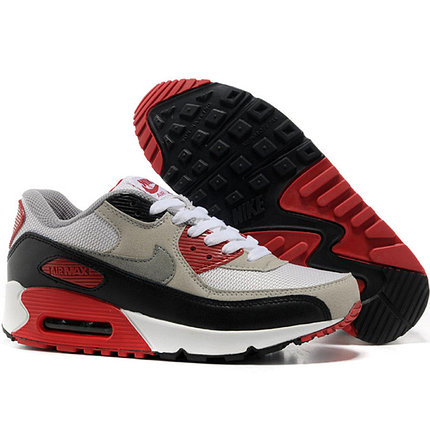 Nike Air Max 90 кроссовки черно-серые, фото 2