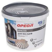 Краска водно-дисперсионная Ореол для наружных работ 6,5 кг