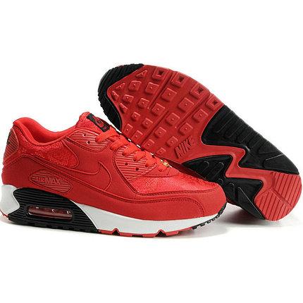 Nike Air Max 90 кроссовки красные, фото 2