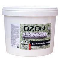 Краска текстурная OZON 'Шагрень-волны ФАСАД' ВД-АК 171(5)М акриловая 6 кг (комплект из 2 шт.)