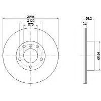 Тормозные диски Bmw 3 (E46) объем 2.0-2.8  (задние,RoadHouse), D300)