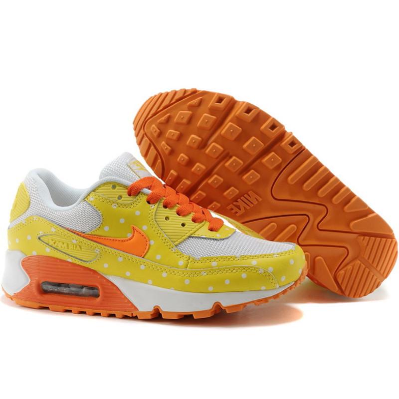 Nike Air Max 90 кроссовки желтые