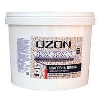 Краска текстурная OZON 'Шагрень-волны' ВД-АК 271М акриловая 6 кг (комплект из 2 шт.)