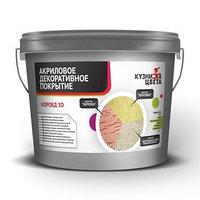 Акриловое декоративное покрытие КОРОЕД 3D 'Кузница цвета' фракция 1,5-2мм 7,5кг (комплект из 2 шт.)