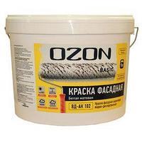Краска фасадная OZON-Basic ВД-АК 111М акриловая 2,7 л (3,9 кг) (комплект из 2 шт.)