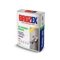 Шпаклёвочная смесь на полимерном связующем для окончательной отделки стен и потолков в сухих помещениях Brozex КР (финишная), супербелая, 20 кг