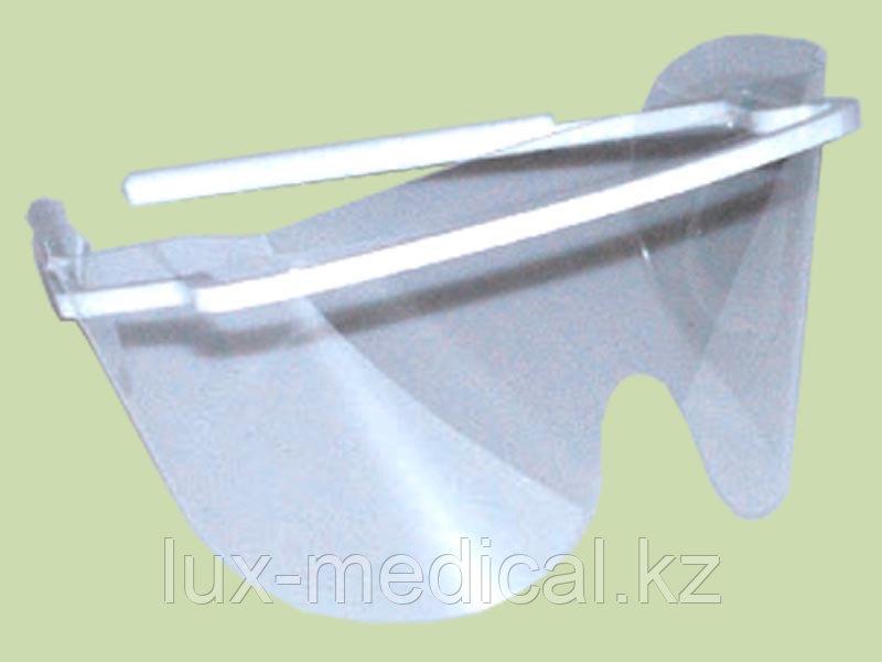 Экран пластмассовый для предохранения глаз медперсонала ЭПГ- ЕЛАТ