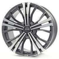 Диск литой OZ Cortina 9,5x20 5x130 ET52 d71,6 Matt Dark Graphite Diamond Cut