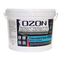 Краска фасадная OZON FassadenFarbe SILIKON ВД-АК 115АМ акриловая, база А 0,9 л (1,4 кг) (комплект из 2 шт.)