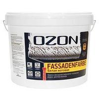 Краска фасадная OZON FassadenFarbe ВД-АК 112АМ акриловая, база А 0,9 л (1,4 кг) (комплект из 3 шт.)