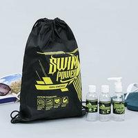 Набор для басcейна 'Плавание - сила' сумка, бутылочки для шампуней