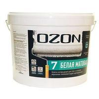 Краска интерьерная OZON-7 ВД-АК 233АМ акрилатно-латексная, база А 0,9 л (1,3 кг) (комплект из 3 шт.)