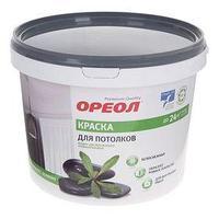Краска водно-дисперсионная Ореол для потолка 3,0 кг (комплект из 4 шт.)