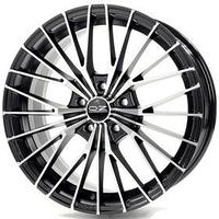 Диск литой OZ Ego 9,5x19 5x120 ET18 d79 Matt Black Diamond Cut (W8505420554) dXL