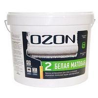 Краска интерьерная OZON-2 ВД-АК 222АМ акрилатно-латексная, база А 0,9 л (1,4 кг) (комплект из 3 шт.)