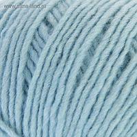 """Пряжа """"Азалия"""" 40% мериносовая шерсть, 60% акрил 270м/100гр (0276, бледно- голубой)"""