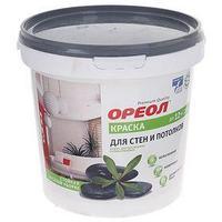 Краска водно-дисперсионная Ореол для внутренних работ 1,5 кг (комплект из 5 шт.)