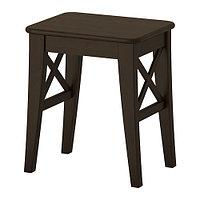 Табурет ИНГОЛЬФ коричнево-чёрный ИКЕА, IKEA