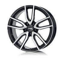 Диск литой Rial Torino 7,5x17 5x108 ET48 d70,1 Diamond Black Front Polished
