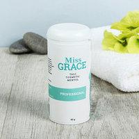 Тальк косметический Miss Grace Professional с ментолом для депиляции, 50 г