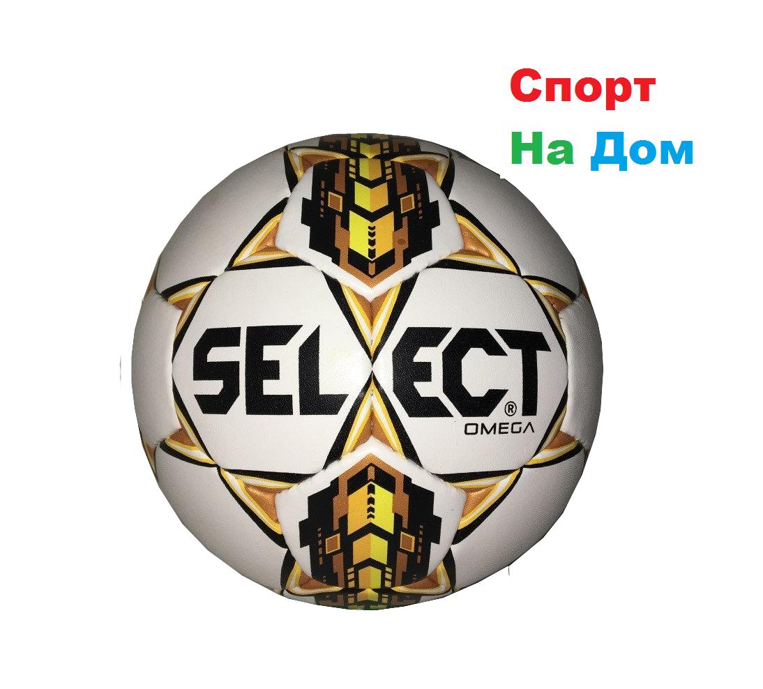 Футбольный мяч Select Omega кожаный (размер 4) сшитый