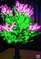 """Cветодиодное дерево """"Жасмин"""" 1,2 м, светящееся светодиодное дерево"""