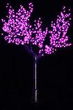 """Cветодиодное дерево """"Сакура"""" 2,5 м Цвет: зеленый, красный, желтый, синий,белый,сиреневый, розовый, фото 2"""