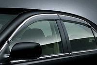 Ветровики/Дефлекторы окон c хромом на Lexus ES 2012-