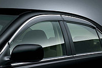Ветровики/Дефлекторы окон c хромом на Lexus ES 2016-, фото 1