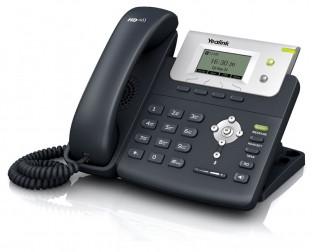 Yealink SIP-T21P E2 SIP-телефон, 2 линии, PoE, блок питания в комплекте