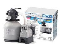Песочный фильтр-насос, Intex 26646, Krystal Clear, производительностью 7.900 л\час