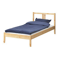 Кровать каркас ФЬЕЛЬСЕ сосна ИКЕА, IKEA, фото 1