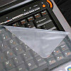 """Силиконовая защитная пленка для клавиатуры ноутбука 15.6"""""""