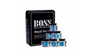 """Виагра для мужчин """"Boss Royal Viagra"""" (Босс рояль), 3 штуки"""