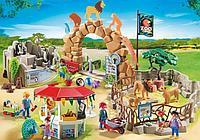 Большой конструктор для детей Playmobil «Зоопарк», фото 1