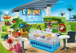 Детский конструктор Playmobil «Кафе и магазин летних товаров»