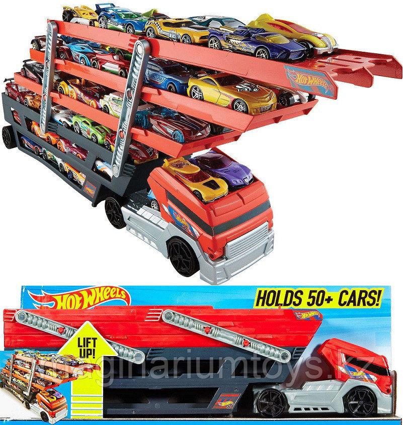 Автовоз Хот Вилс Hot Wheels для 50 машинок