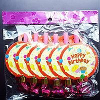 """Дудочки-свисток """"Happy birthday"""", фото 1"""