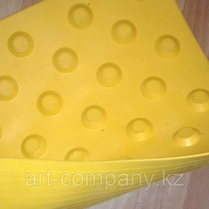 Тактильные плиты ПВХ конкурс направляющие поворот