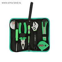 Набор инструмента TUNDRA basic, универсальный, 7 предметов, кейс-папка