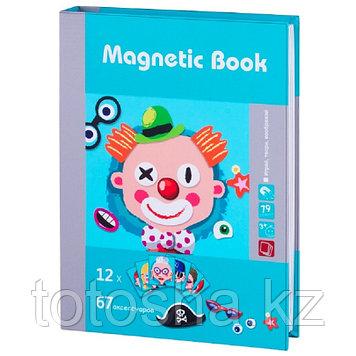 """Magnetic Book Магнитная книга """"Гримёрка веселья"""", 79 деталей"""
